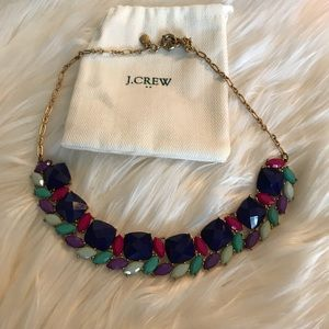 J. Crew colorful statement necklace